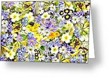 Naturalness And Flowers 54 Greeting Card