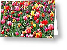 Naturalness And Flowers 55 Greeting Card