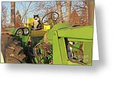 New Hired Hand Greeting Card