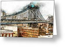 New York Panorama - 29 Greeting Card