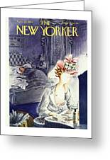 New Yorker April 20th 1946 Greeting Card