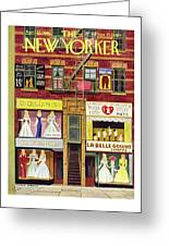 New Yorker April 27th 1946 Greeting Card
