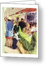New Yorker August 17th 1946 Greeting Card