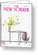 New Yorker Cover June 5 1989 Greeting Card