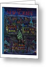 New Yorker December 15, 1951 Greeting Card