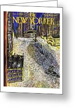 New Yorker December 28th 1946 Greeting Card