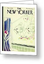 New Yorker December 4th 1943 Greeting Card