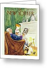 New Yorker February 23rd 1946 Greeting Card