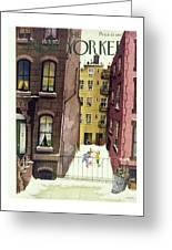 New Yorker February 2nd 1946 Greeting Card