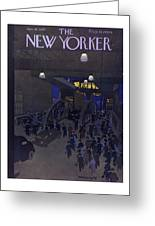 New Yorker January 18, 1947 Greeting Card