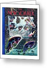 New Yorker January 19th 1946 Greeting Card