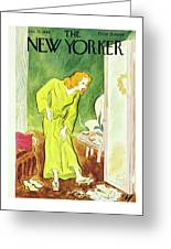 New Yorker January 26th 1946 Greeting Card