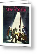 New Yorker January 30th 1943 Greeting Card