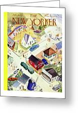 New Yorker July 19th 1947 Greeting Card
