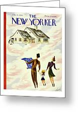 New Yorker July 20th 1946 Greeting Card