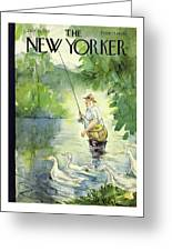 New Yorker July 25th 1942 Greeting Card