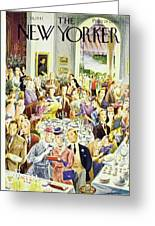 New Yorker June 28th 1947 Greeting Card