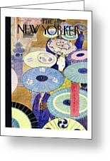 New Yorker June 7, 1947 Greeting Card