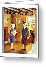 New Yorker June 8th 1946 Greeting Card
