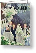 New Yorker March 20th 1943 Greeting Card