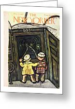 New Yorker March 22nd 1947 Greeting Card
