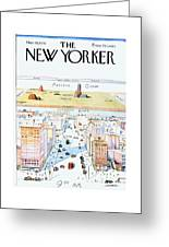 New Yorker March 29, 1976 Greeting Card