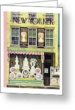New Yorker March 2nd 1946 Greeting Card