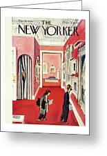 New Yorker March 30th 1946 Greeting Card