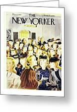 New Yorker March 8, 1947 Greeting Card
