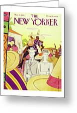 New Yorker March 9th 1946 Greeting Card
