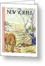 New Yorker May 17th 1947 Greeting Card
