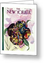 New Yorker May 18th 1946 Greeting Card