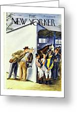 New Yorker May 31st 1947 Greeting Card