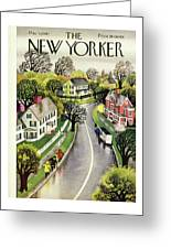 New Yorker May 3rd 1947 Greeting Card