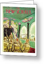 New Yorker November 13th 1943 Greeting Card