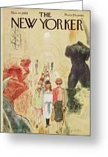 New Yorker November 14 1959 Greeting Card