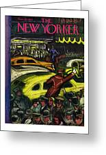 New Yorker November 20th 1943 Greeting Card