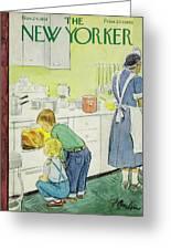 New Yorker November 24, 1951 Greeting Card