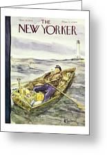 New Yorker November 30th 1946 Greeting Card