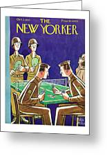 New Yorker October 2nd 1943 Greeting Card