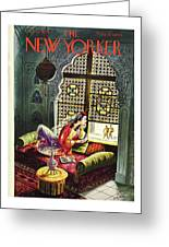 New Yorker October 30th 1943 Greeting Card