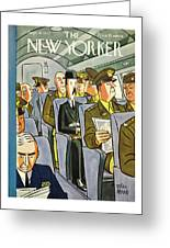 New Yorker September 18th 1943 Greeting Card