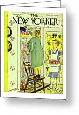New Yorker September 25th 1943 Greeting Card