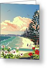 New Zealand Orewa Beach Greeting Card