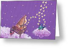 Night Sky Music Makers Greeting Card