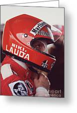 Niki Lauda. 1976 United States Grand Prix Greeting Card