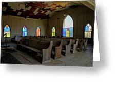 No More Sermons  Greeting Card