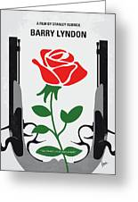 No1019 My Barry Lyndon Minimal Movie Poster Greeting Card