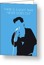 No289 My The Smiths Minimal Music Poster Greeting Card
