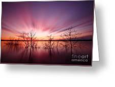North Carolina Sunset Greeting Card